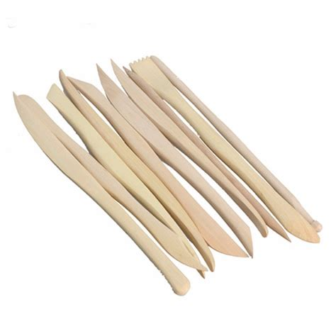 Mont Marte Clay Tool Set Modeling Clay Tools 11 Pcs wooden clay sculpture knife pottery sharpen modeling tools