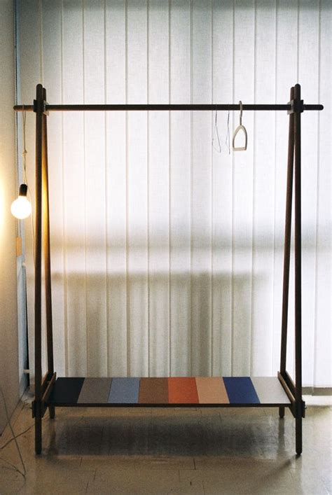 How To Build A Clothes Rack With Wood by Ksilofon Clothing Rack By Kras Ksilofon Is A Clothing