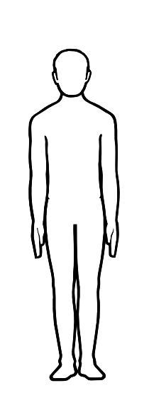template of person template of a person clipart best