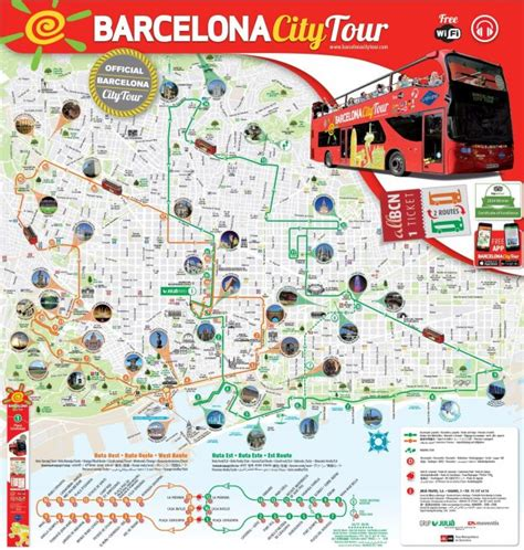 barcelona map tourist attractions maps update 30722069 barcelona tourist map pdf