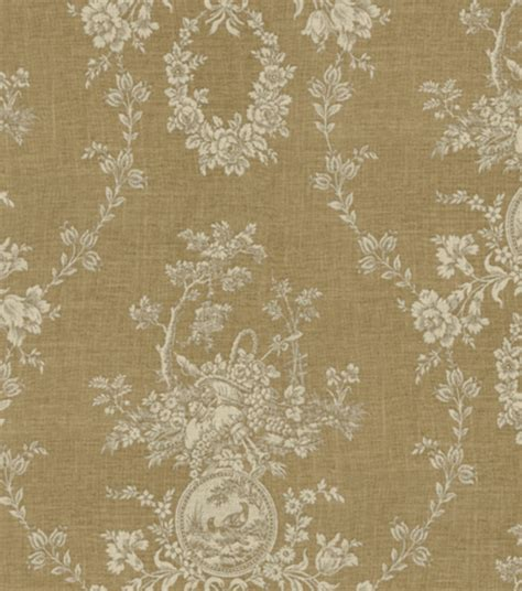 home decor print fabric waverly country house linen jo