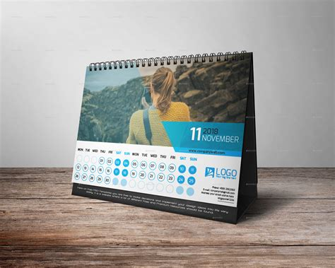 Calendar 2018 For Desk Desk Calendar 2018 By Zakirhossen Graphicriver