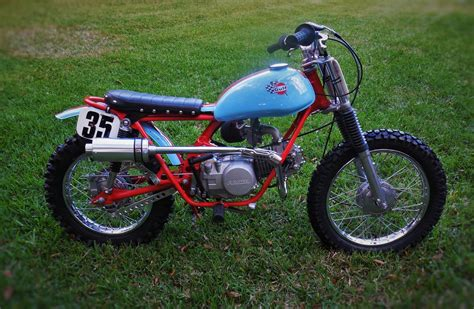 Honda Sl70 by Honda Sl70 Tracker By Otc Custom Motorcycles Bikebound