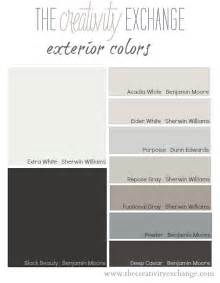 exterior color palette paint monday the creativity exchange especially good with that gray blue rug