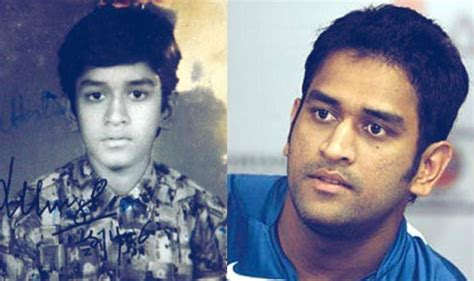 mahendra singh dhoni family childhood childhood photos of your favourite indian cricketers