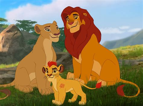 film lion guard exclusive pics see rob lowe as simba in new lion king