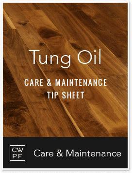 Site Finish Tung Oil   Care & Maintenance   Carlisle Wide
