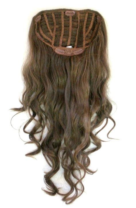 human hair gray wiglet human hair pull through wiglet filler enhancer piece ebay