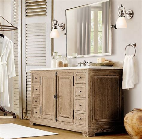 bathroom vanity hardware ideas restoration hardware style bathroom vanities restoration