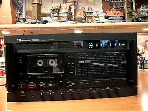 nakamichi 1000 cassette deck nakamichi 1000 zxl cassette deck