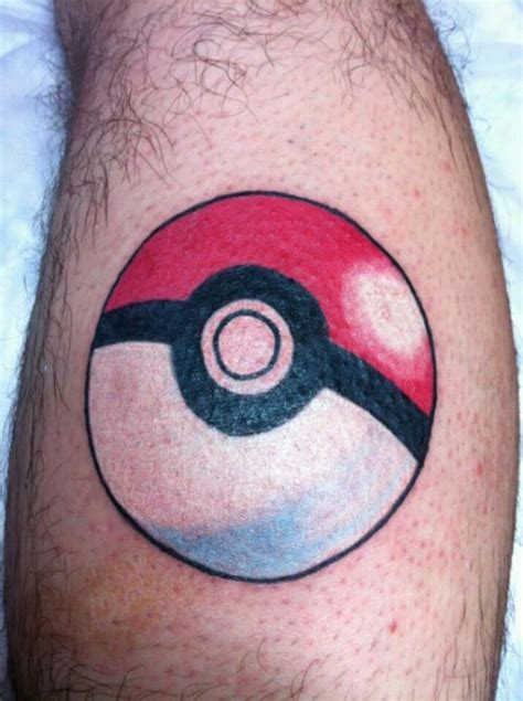 15 pokemon tattoos to help you catch em all pokeball guff