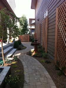 Narrow Patio Ideas 17 Best Images About Narrow Side Yard Ideas On