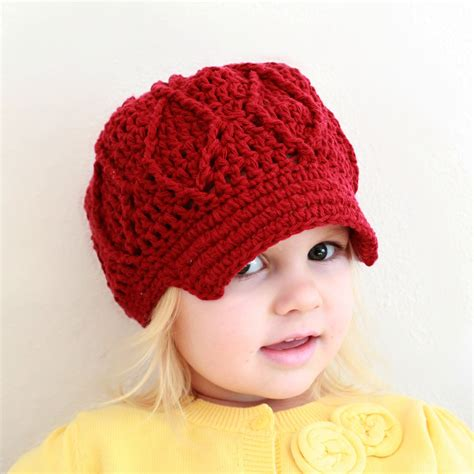 pattern crochet toddler hat instant download crochet pattern maggie newsboy hat
