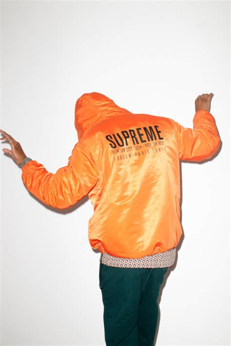supreme clothing retailers terry richardson has a new editorial featuring