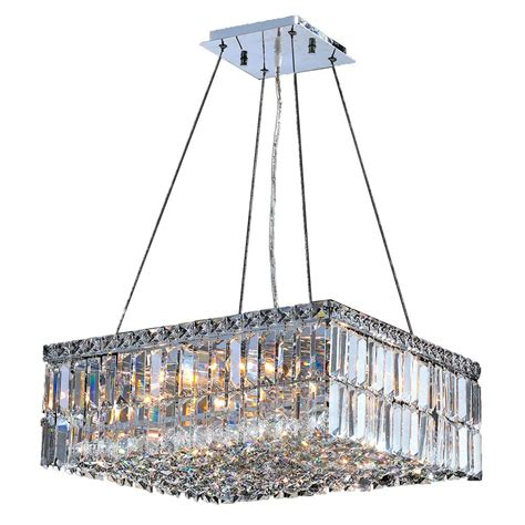 worldwide lighting cascade collection 12 light chrome and
