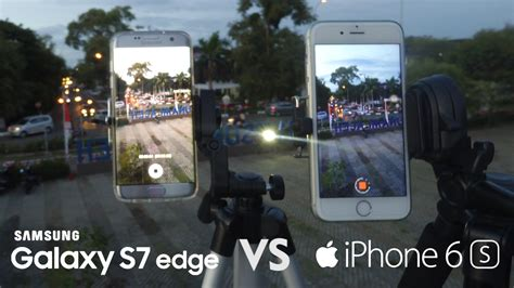samsung galaxy  edge  iphone  camera test comparison