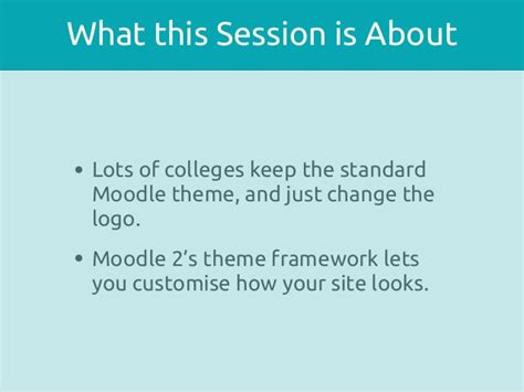 moodle theme modification theming moodle technical