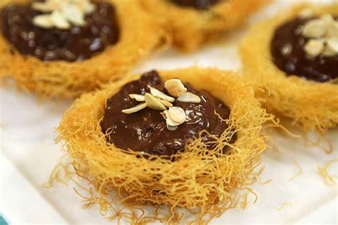 muhallebili kurabiye tlayn mutfa nefis yemek tarifleri muhallebili kadayıf tatlısı arda nın mutfağı