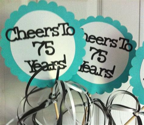75th Birthday Decorations by 25 Best 75th Birthday Decorations Ideas On