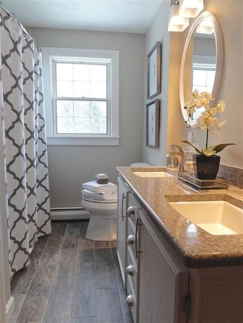revere pewter in bathroom see why top designers love these paint colors for small