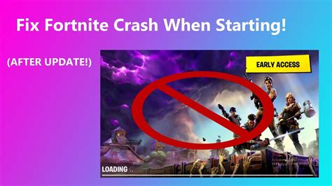 fortnite keeps crashing pc working how to fix fortnite crashing on startup