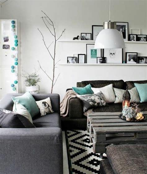 Idee Deco Salon Gris Et by Un Salon En Gris Et Blanc C Est Chic Voil 224 82 Photos Qui