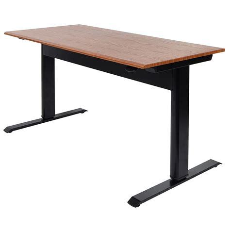 Adjustable Desk Canada by Niagara 56 In Modern Adjustable Height Desk Eurway