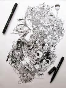 pens for doodle impressively detailed pen doodles by kerby rosanes bored