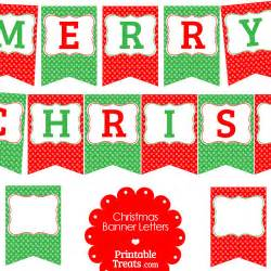 Christmas banner flags that you can use to customize your christmas