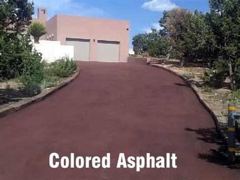 colored asphalt mike martin s asphalt paving driveway seal coating