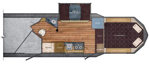 trailer living quarter floor plans 7 ft wide 12 215 12 living quarter trailer floor plan