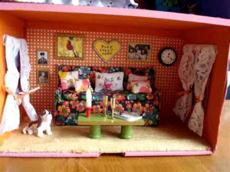 shoebox house shoebox doll house youtube