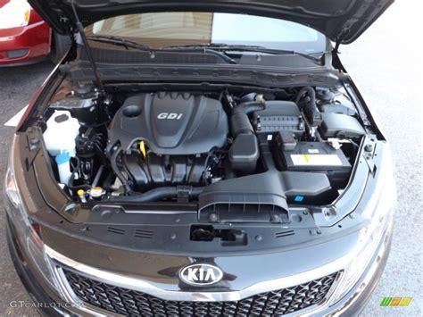 Kia Gdi Engine 2013 Kia Optima Lx 2 4 Liter Gdi Dohc 16 Valve 4 Cylinder