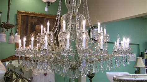 Vintage Crystal Chandeliers Italian Maria Theresa Antique Crystal Chandelier The