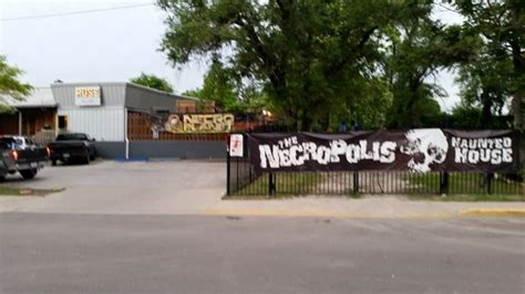 necropolis haunted house here are 14 haunted attractions you must experience this fall