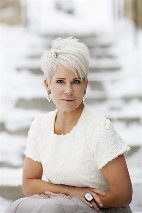 short white hair for 60 and over best 25 over 60 hairstyles ideas on pinterest