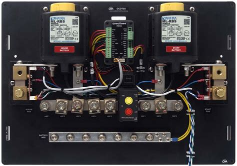 outback type  lithium bms dc distribution board outback marine