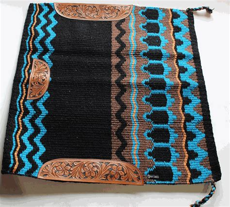 Wool Saddle Blankets For Horses 34x36 wool western show trail saddle blanket rodeo