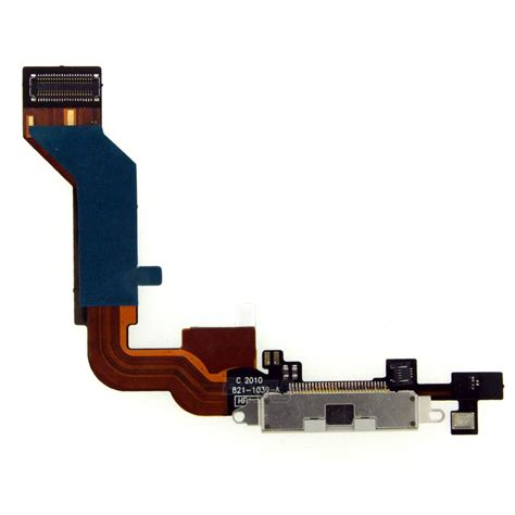 iphone charging port charger charging dock port connector with flex cable for apple iphone 4s white ebay