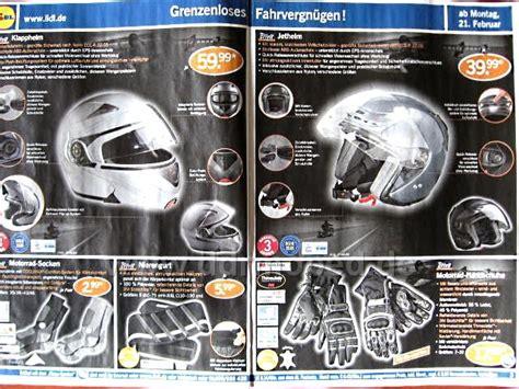 Motorradhelme Lidl by Motorradhelm Crivit Sp 803y Ddrmoped De