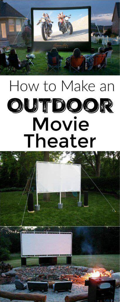 25 best backyard movie theaters ideas on pinterest