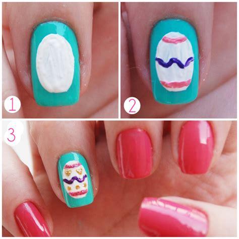 tutorial nail art pascoa clima de p 225 scoa nail art s 233 tima avenida