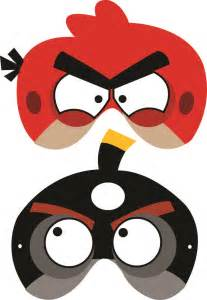 angry birds free printable masks luca party printable masks angry birds