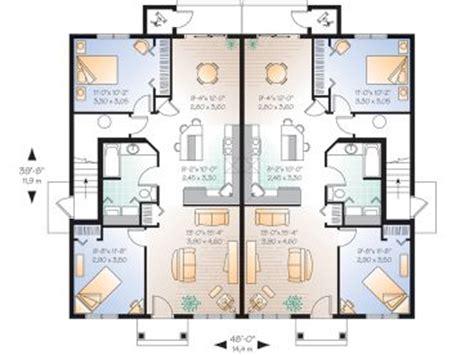 multiplex housing plans small plan 027m 0024 find unique house plans home plans and