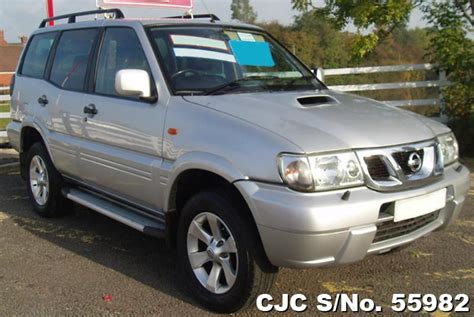nissan terrano 2004 2004 nissan terrano silver for sale stock no 55982