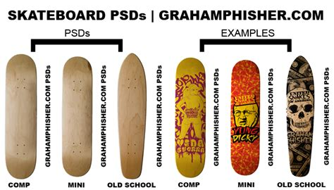 Skateboard Psds By Grahamphisherdotcom On Deviantart Skateboard Design Template