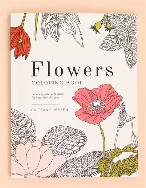 flower coloring book flowers coloring book the house that lars built