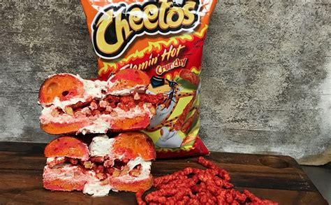 cheetos chitlins children books you can now eat a flaming cheetos bagel and the