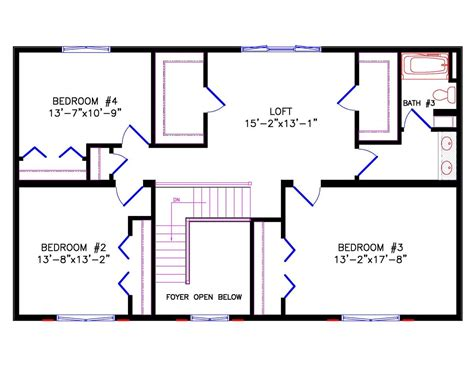 colonial floor plans open concept 100 colonial open floor plan astounding design open