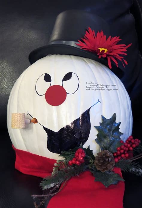 pumpkins decorated for christmas the 25 best pumpkins ideas on outdoor snowman decorations fall wood